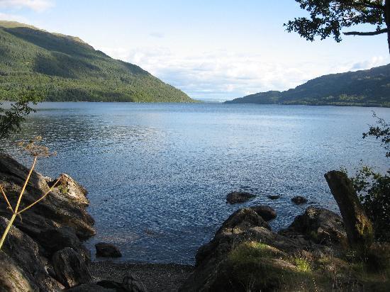 Cloudside Bed & Breakfast : Altro punto di osservazione del Loch Lomond a nord di LUSS