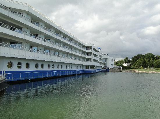 Miramar La Cigale Hotel Thalasso & Spa: vue de l'hotel
