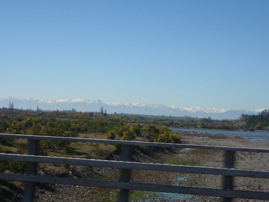 Santiago, Chile: Blick Richtung Nord/Osten