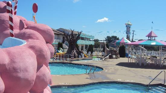 Carousel Inn & Suites: AREA PISCINA
