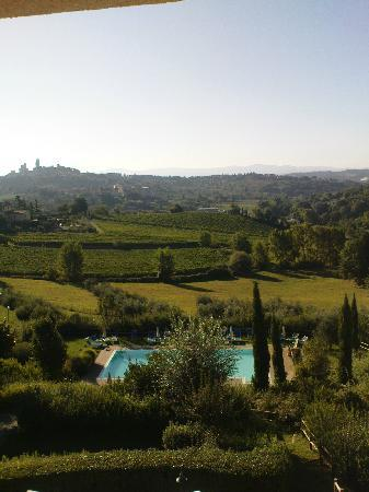 Hotel Villa Ducci: from our room we have this view every morning