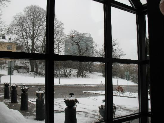 BEST WESTERN Royal Star: View from the hall in spring