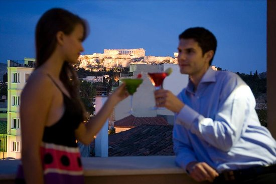 O&B Athens Boutique Hotel: O&B's Acropolis Suites' view