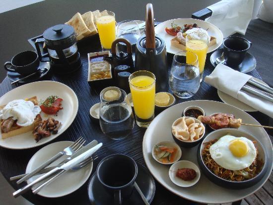 Soori Bali: breakfast in the residence