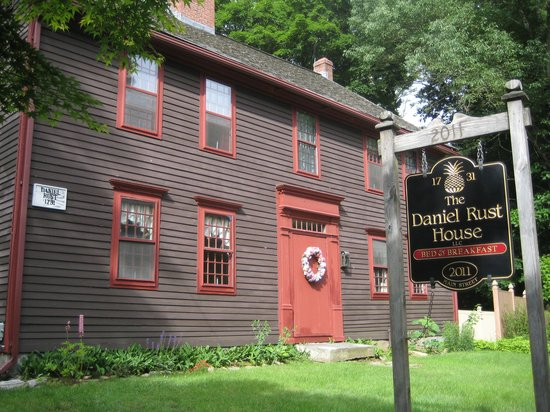 The Daniel Rust House: 18th century charm in 21st century life.