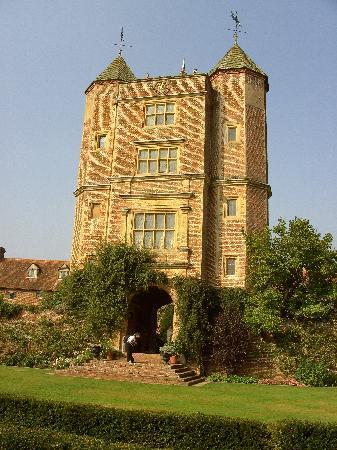 Turm von Sissinghurst Gardens