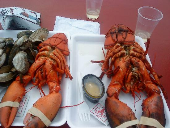 Quimby House Inn : 2 lobsters