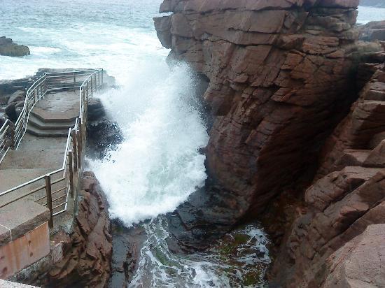 Quimby House Inn : thunder hole again
