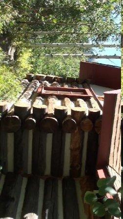 Mount Elbert Lodge: Real log cabins