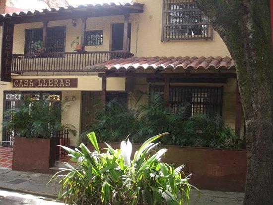 Hostal Casa Lleras: Entrada Principal