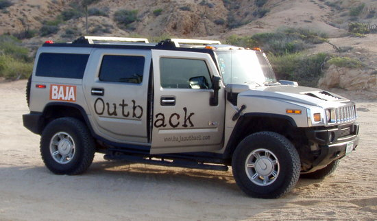 Baja Outback - Day Tours: They picked us up in their HUMMER!