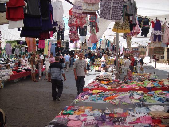 Cankaya Hotel: The market