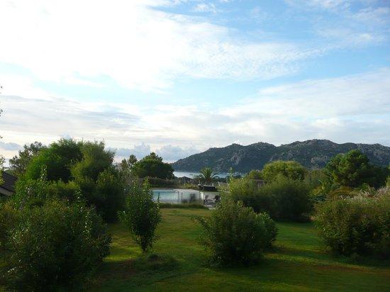 Hôtel Castell'Verde : vue de la chambre