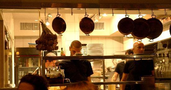 Chakra: la cucina a vista