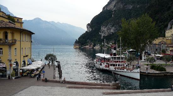 Centrale Hotel -- Riva Del Garda: View from hotel window