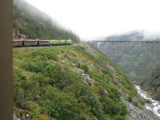 Chilkoot Charters & Tours: View of old train tracks