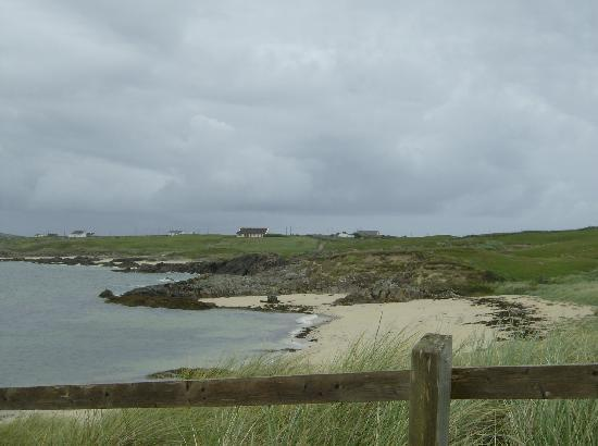 Galway, Irland: Beach at Acton's Caravan & Camping Park