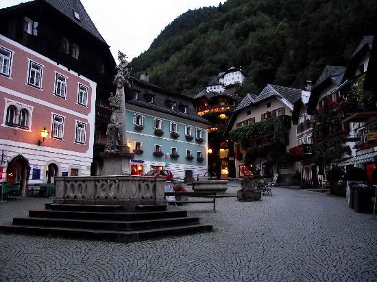 Pension Sarstein: Town Square