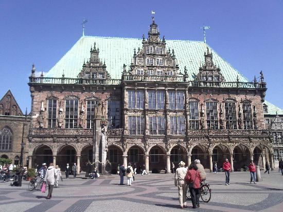Bremen, Almanya: Bremer Rathaus