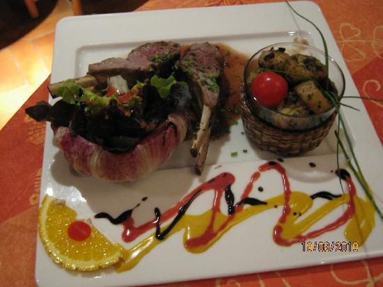 Hotel Restaurant La Pietra : Excellente viande