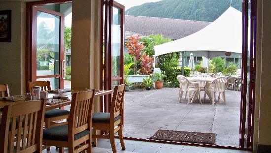 Pago Pago, American Samoa: from the bar
