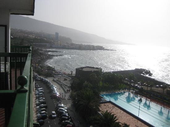 Sol Puerto de la Cruz Tenerife: Vista desde la ventana....