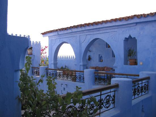Chefchaouen, Marokko: The Terrace at Casa Perleta