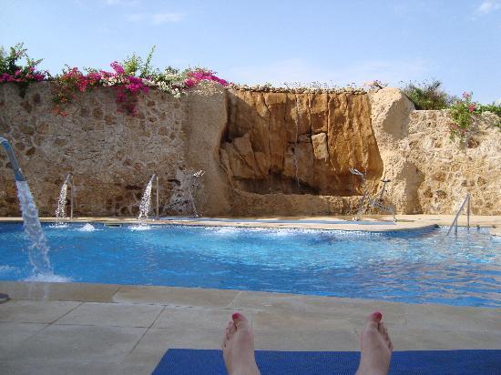 Stella Di Mare Beach Hotel & Spa: The spa pool