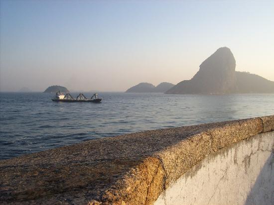 Rio de Janeiro, RJ: Entrance of Guanabara Bay with Sugar Loaf