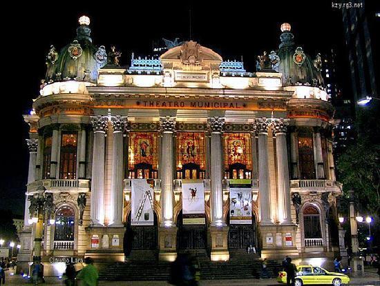 Rio de Janeiro, RJ: Municipal Theatre