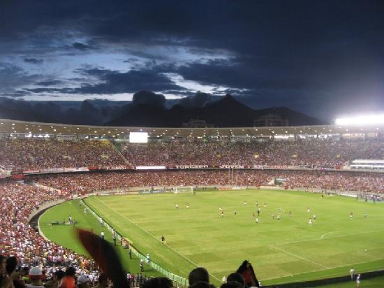 Rio de Janeiro, RJ: Football Match