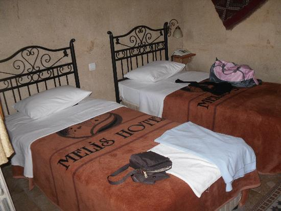 Melis Cave Hotel: chambre