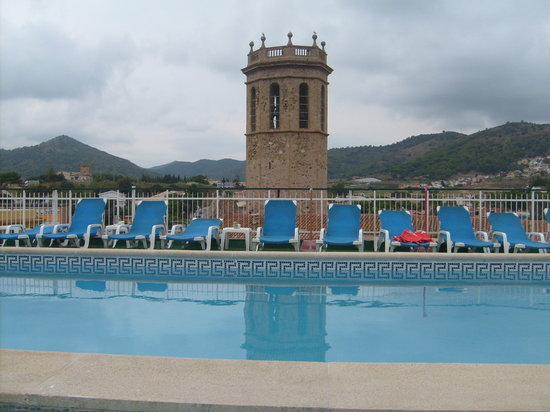Hotel Merce: Roof top swimming pool