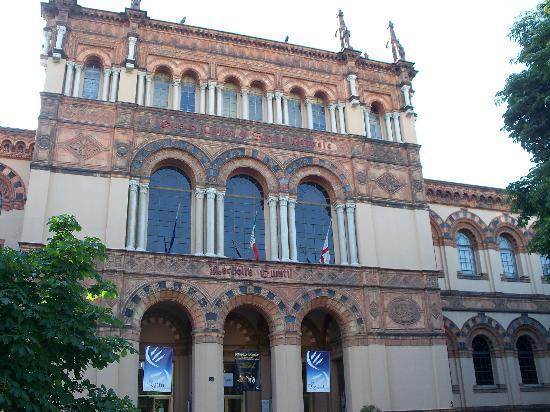Civico Museo di Storia Naturale : facciata