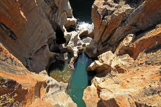Mpumalanga, South Africa: Burke's Luck potholes
