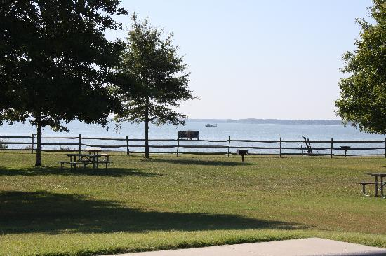 Belle Isle State Park Picnic Area Overlooking Rahannock River