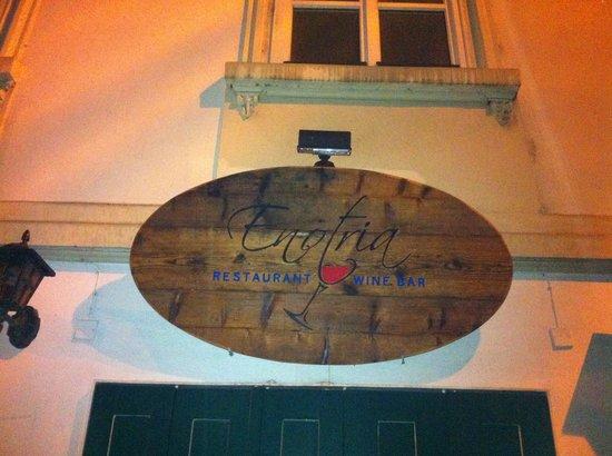 Enotria Restaurant & Wine Bar: front