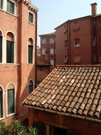 Alla Corte Rossa: View from our room.  Not on the canal side, but still lovely.