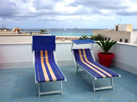 Hotel Piccolo Mondo: La vista dal terrazzo