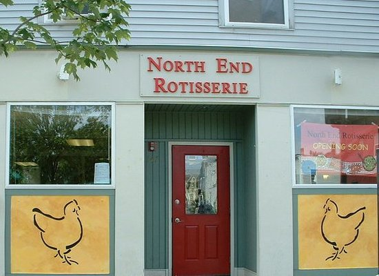 North End Rotisserie: The store