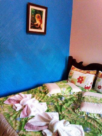 Pousada Pedacinho de Ceu: Vista do quarto