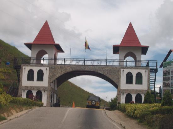 La Colonia Tovar, Venezuela: ENTRADA AL PUEBLO