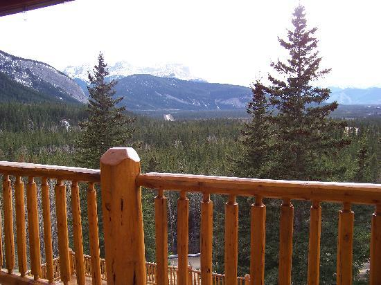 Overlander Mountain Lodge: View from our room