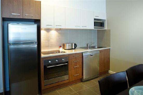 Quest Mawson Lakes: Complete kitchen facilities in all 1, 2 & 3 bedroom apartments