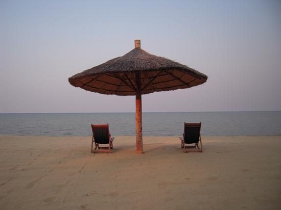 Ngala Beach Lodge : Relaxing