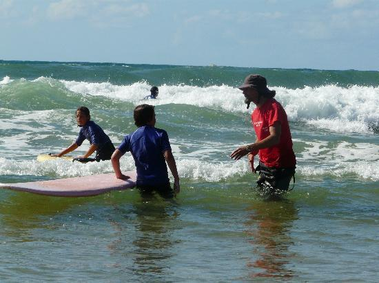 Messanges surf school: Attentif à tous