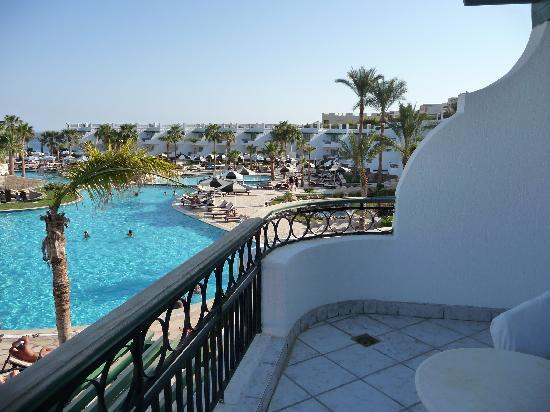 Hilton Sharm Waterfalls Resort: view from our room
