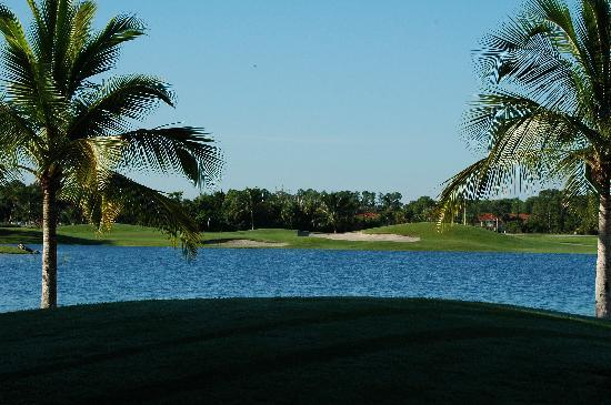 Flamingo Island Course - Lely Resort : Viel Wasser!