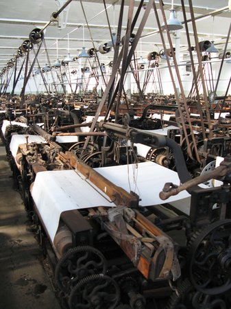 Queen Street Mill Textile Museum: There used to be a thousand looms....