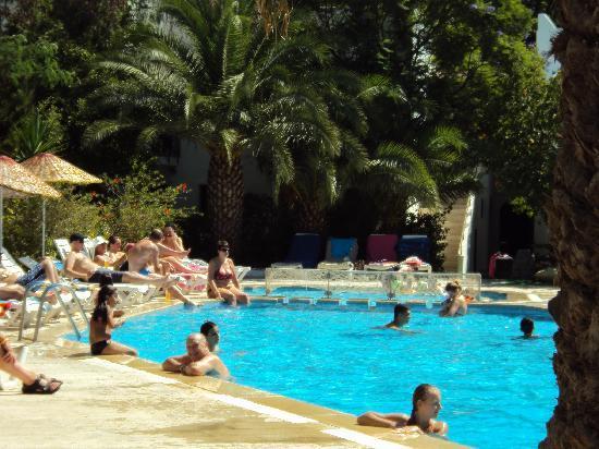 Club Hotel Flora : having fun in the pool